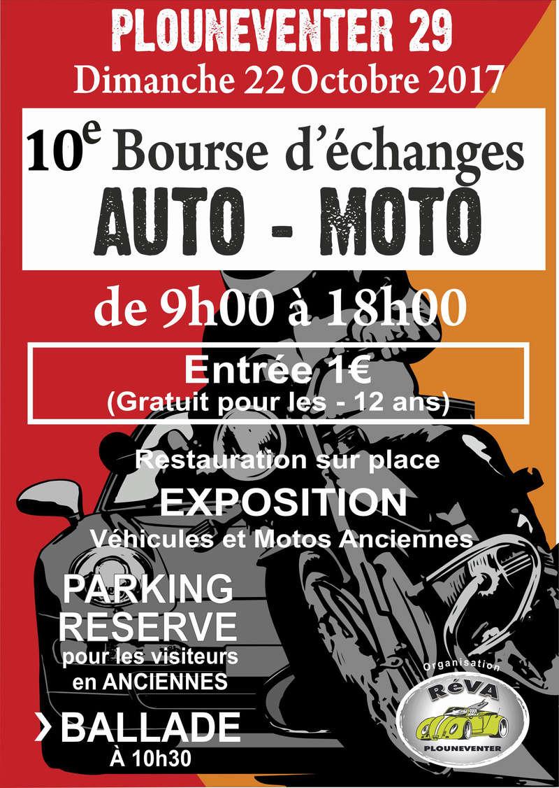 22 Octobre 2017 Bourse d'échange PLOUNEVENTER Affich10