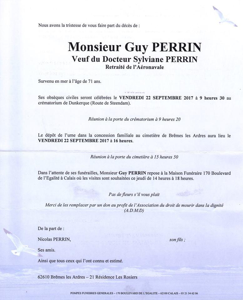 Guy Perrin notre Espérantiste international n'est plus. Faire-10