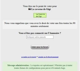 Mes votes sur top sites Captur44