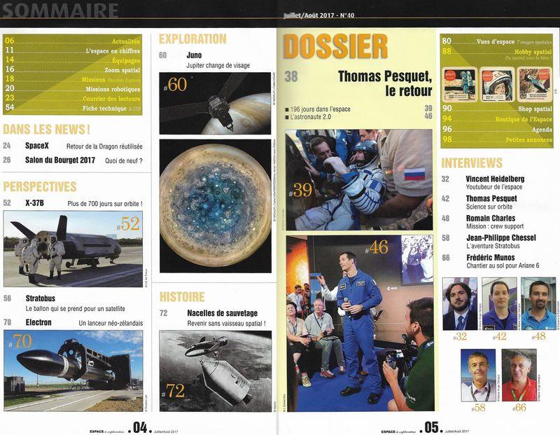 Espace & Exploration n°40 - Les nacelles de sauvetage 17070010