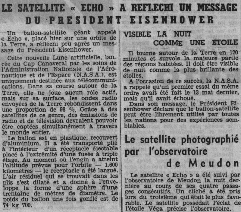 12 août 1960...Echo 1 60081610