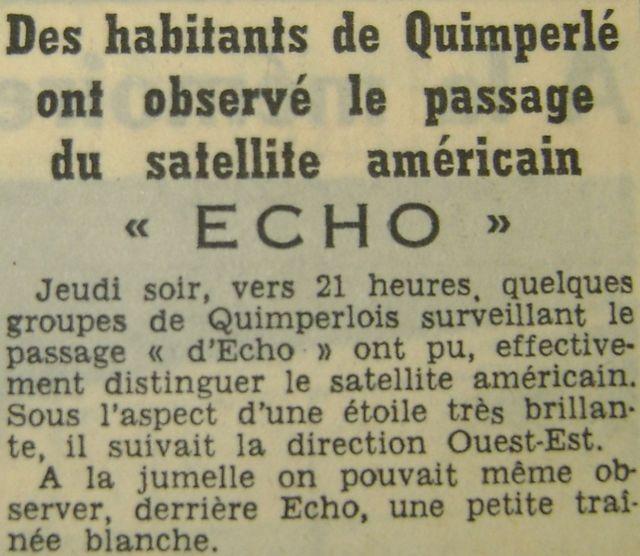 12 août 1960...Echo 1 60090311