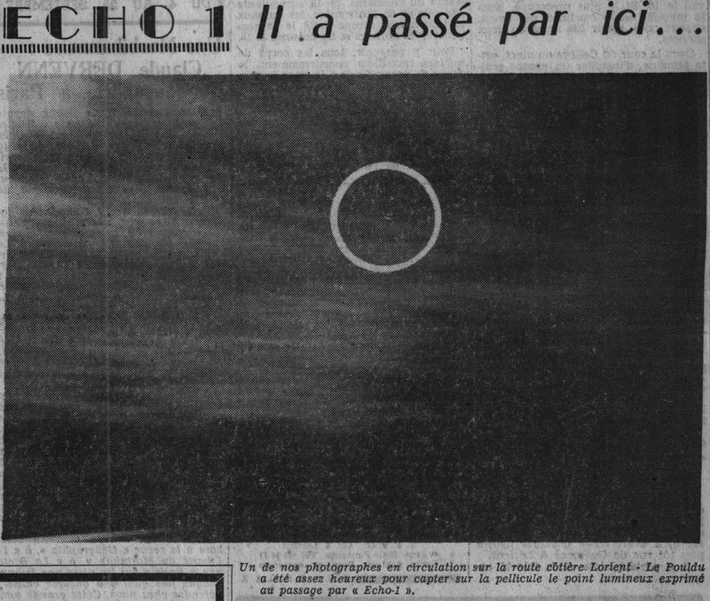 12 août 1960...Echo 1 60090511