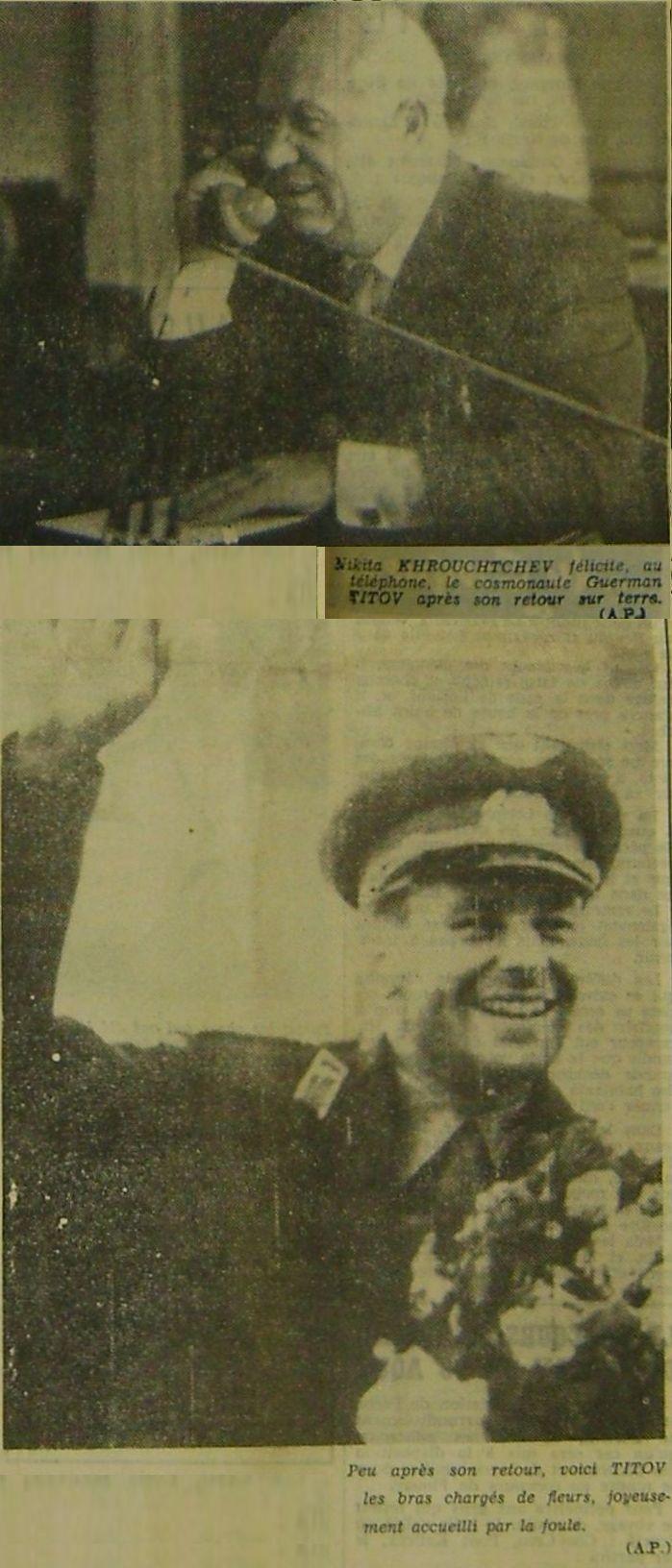 6 août 1961 - Vostok 2 - Guerman Titov 61080911
