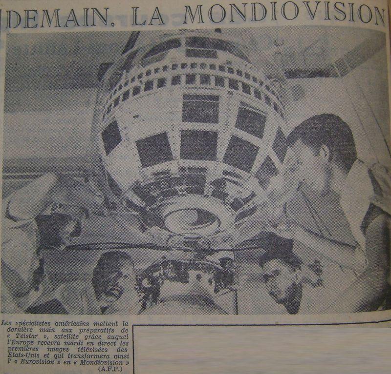 10 juillet 1962 - lancement de Telstar 1 par Delta 62071010