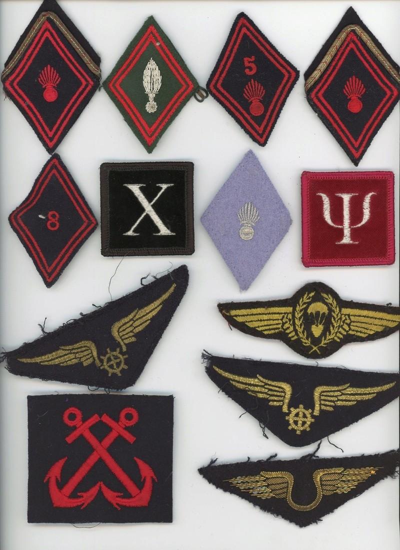 Lot insignes tissus  divers losanges, brevet para aéronautique, etc... ALPINS-SEPTEMBRE2  Terminée Divers12