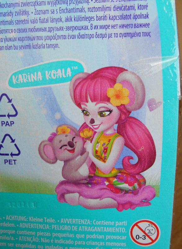 Enchantimals Mattel: miss koala Dscn1914