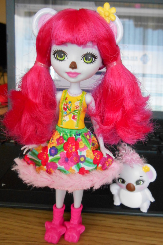 Enchantimals Mattel: miss koala Dscn1915