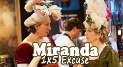 Get dressed for the Miranda Marathon !  Mirand11