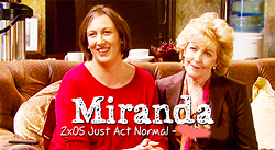 Get dressed for the Miranda Marathon !  Tumblr12
