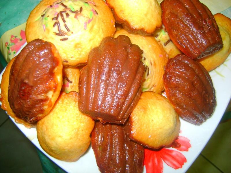mes madeleines saveur chocolat Maman_11