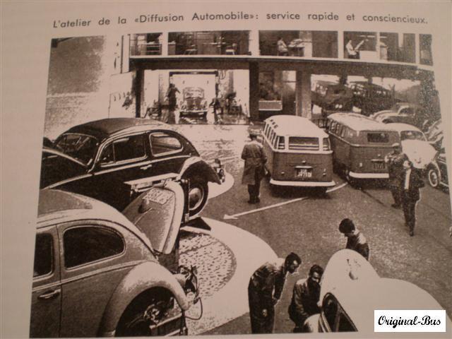 Vw en France - la concession VW Diffusion à Neuilly Paris410