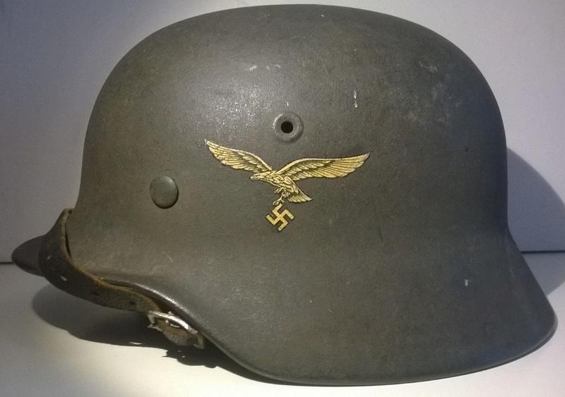 Casque M40 EF64 Luftwaffe 112