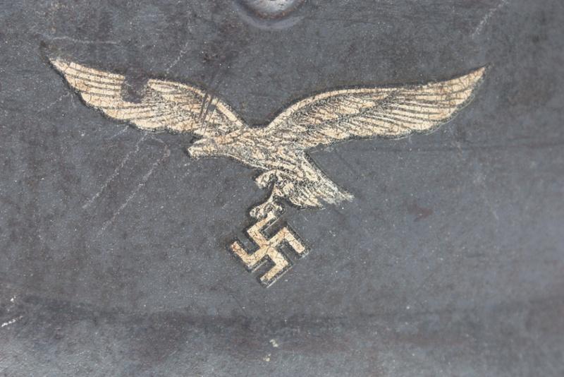 M40 Luftwaffe Q66 n° 4808 (complet) nominatif Casque83