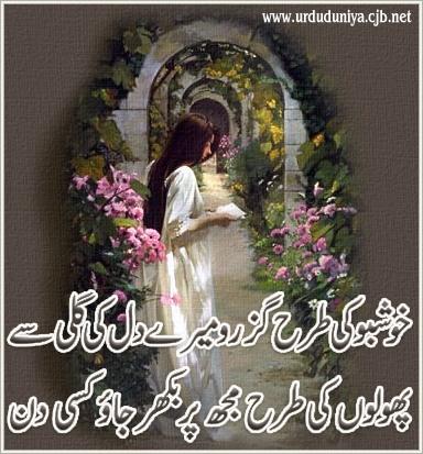 Khushbu Ki Tarah Guzro Mere Dil Say 6fb21513