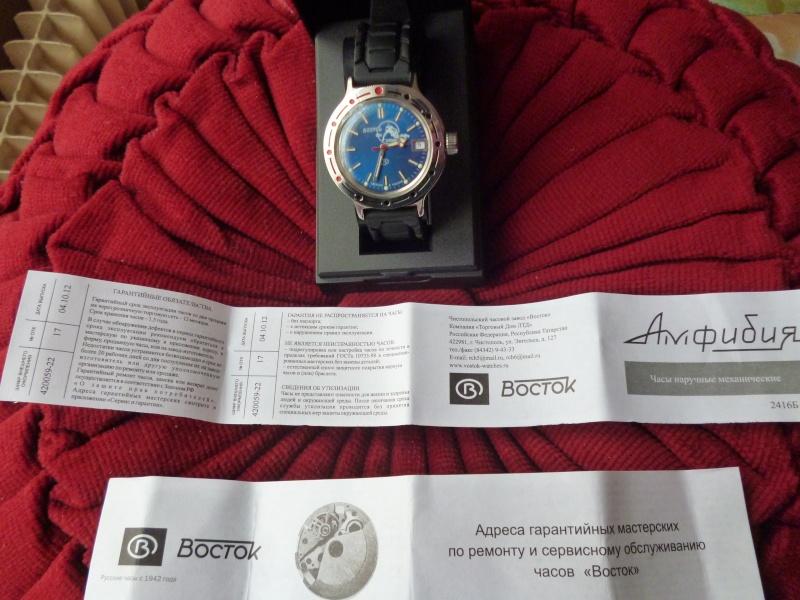 Elle arrive directement de Russie et je l'attendais : Revue Boctok Amphibia, cadran bleu électrique Admin_31
