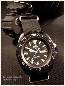 Les montres de plongée militaires, sujet historique. Cwc10