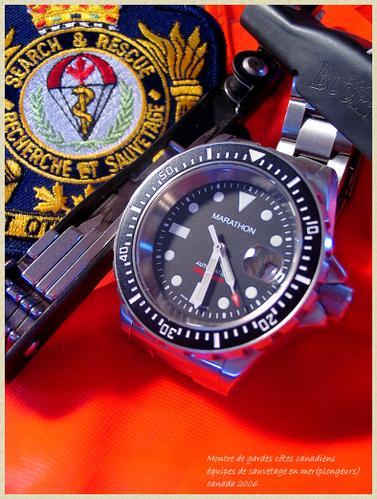 Les montres de plongée militaires, sujet historique. Marath10
