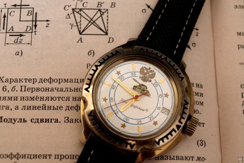 Les montres de plongée militaires, sujet historique. Montre12