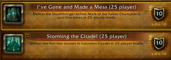 Ice Crown Citadel progression Downed11