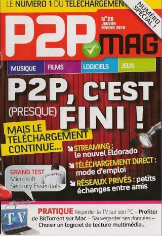 P2P Mag n°26 - Janvier & Fevrier 2010 12636310