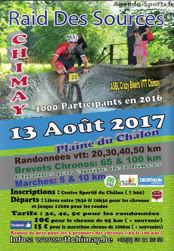 Chimay raid des sources 13/08/2017 Tous-e10