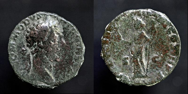 Bronze Domitien 4gr24 Commod10