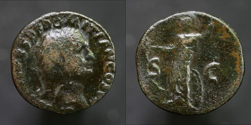 Bronze Domitien 4gr24 Domiti11