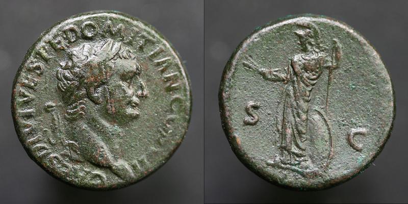 Bronze Domitien 4gr24 Domiti12