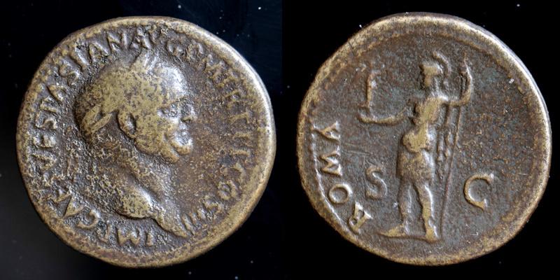 Sesterce de Vespasien Vespas11