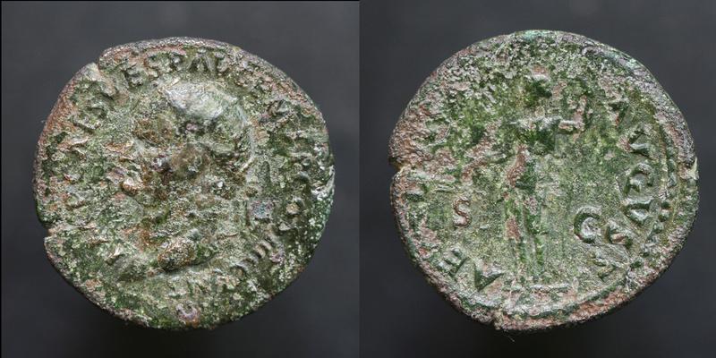 Sesterce de Vespasien Vespas12