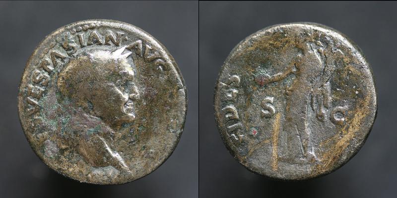 Sesterce de Vespasien Vespas16