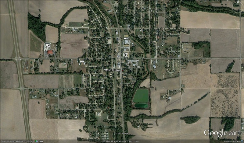 La plus vieille ville noire aux US Mound Bayou Mississippi USA M210