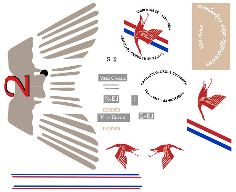"""Mirage 2000-5 """"Vieux Charles"""" au 1/72 Dycalc10"""