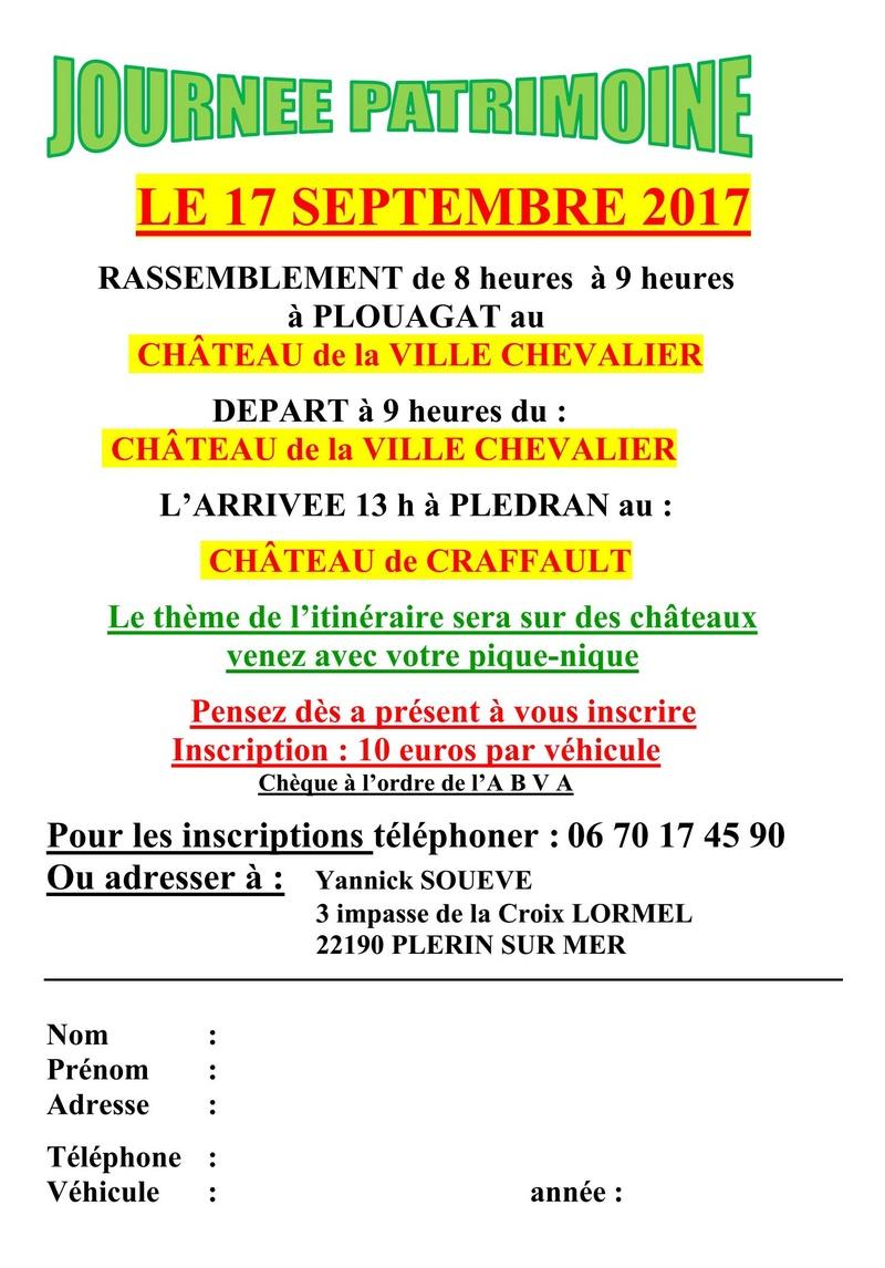 Journée du Patrimoine - 17 Septembre 2017. Journy10