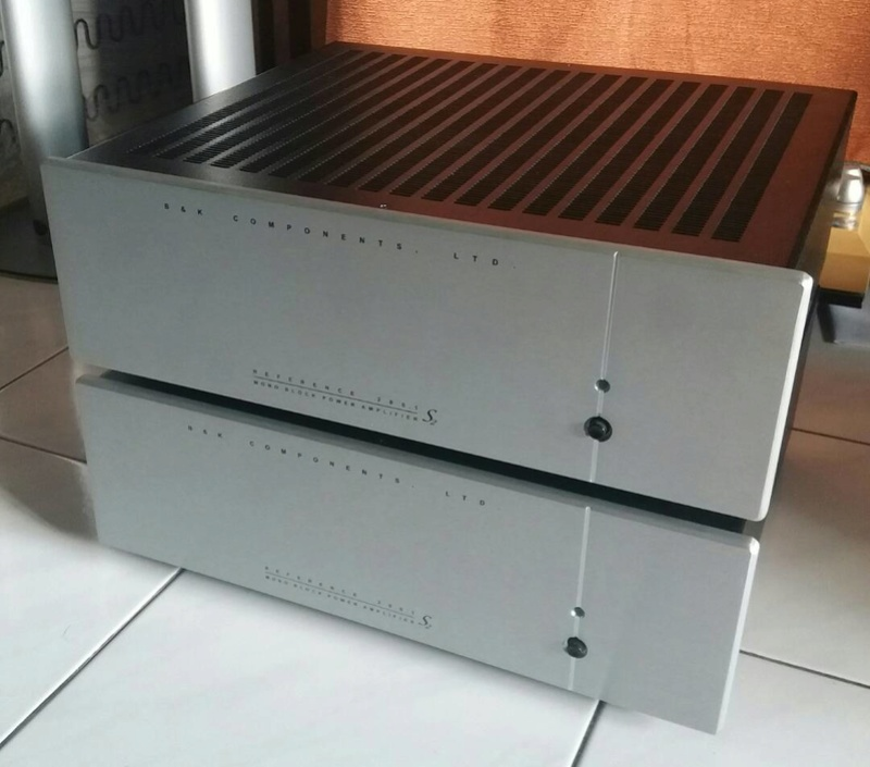 B&K Reference 200.1 Monoblocks Power Amplifiers - 3 pcs available Bkmono10