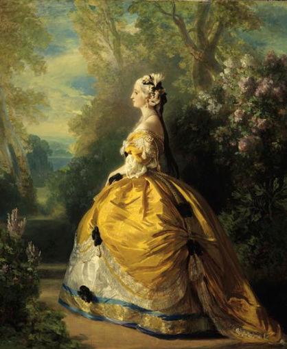 Eugénie - L'impératrice Eugénie et Marie-Antoinette Captur10