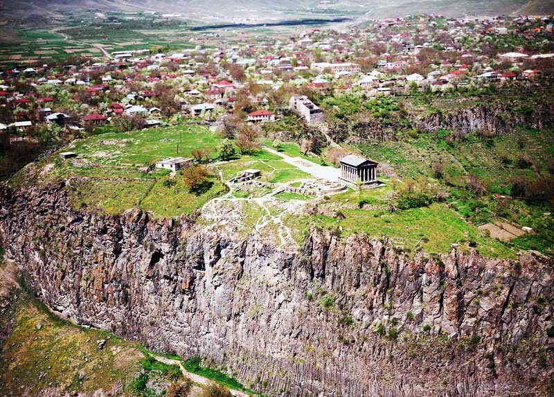 LE TEMPLE DE GARNI (Arménie) Garni-10