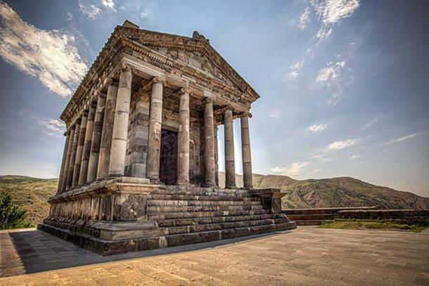 LE TEMPLE DE GARNI (Arménie) Temple10