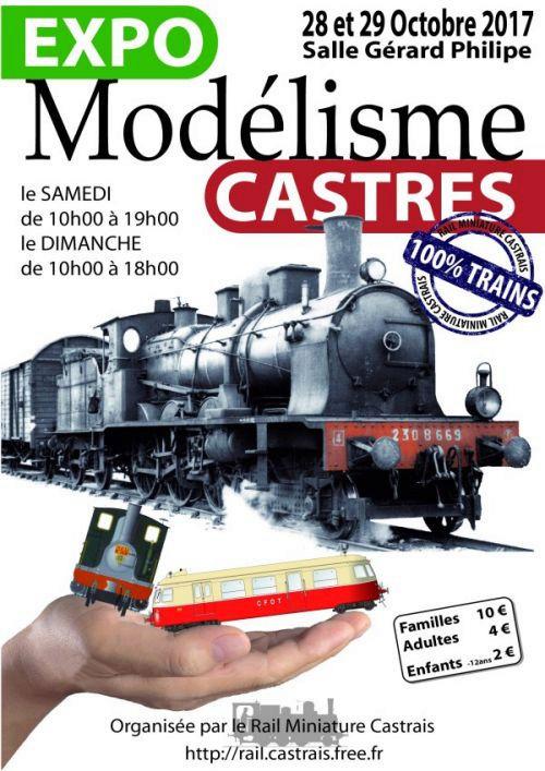2e Expo ferroviaire du RMC les 28 & 29 octobre 2017- Castres Affich10