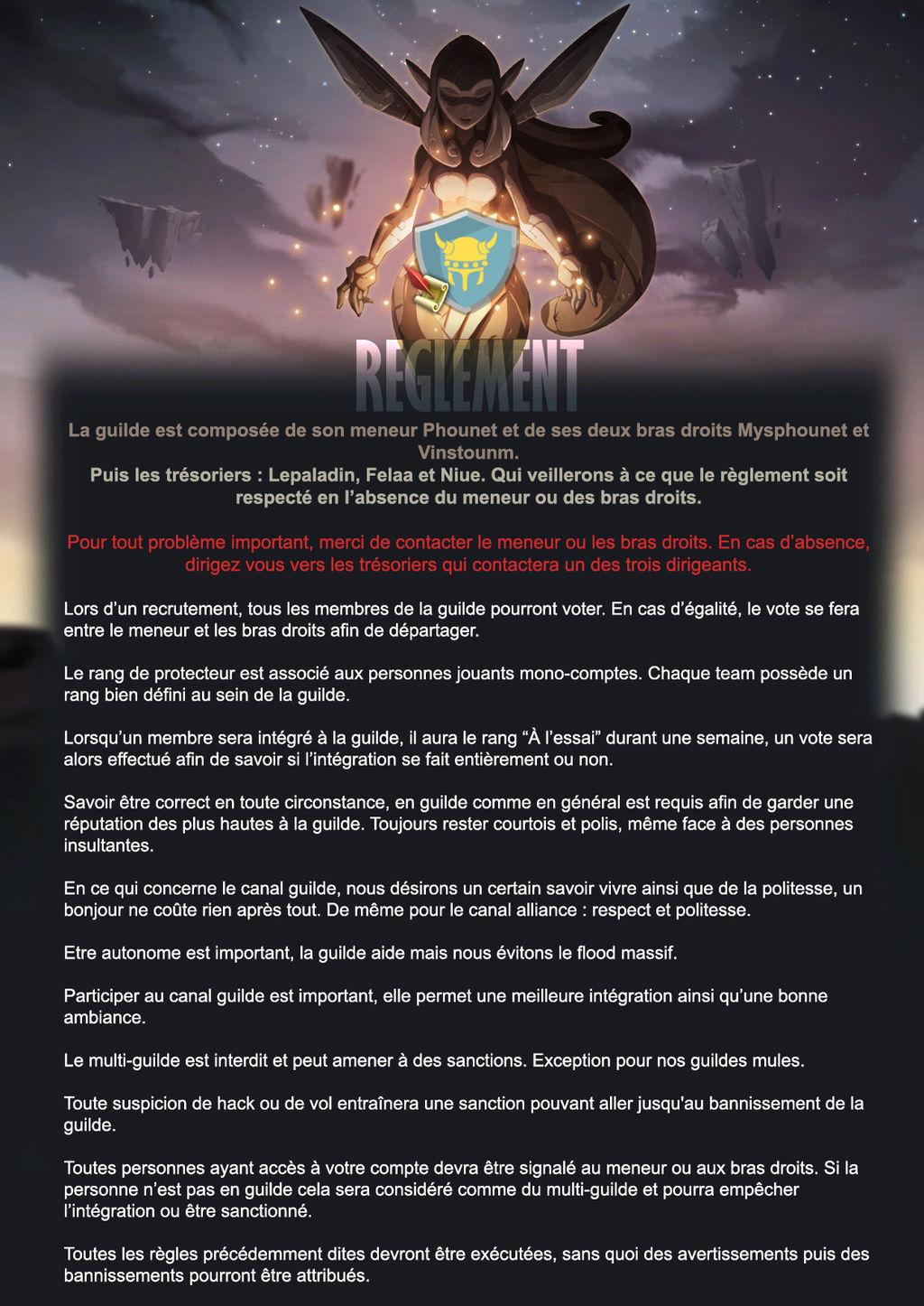 Les Règles de la guilde   Rygles11