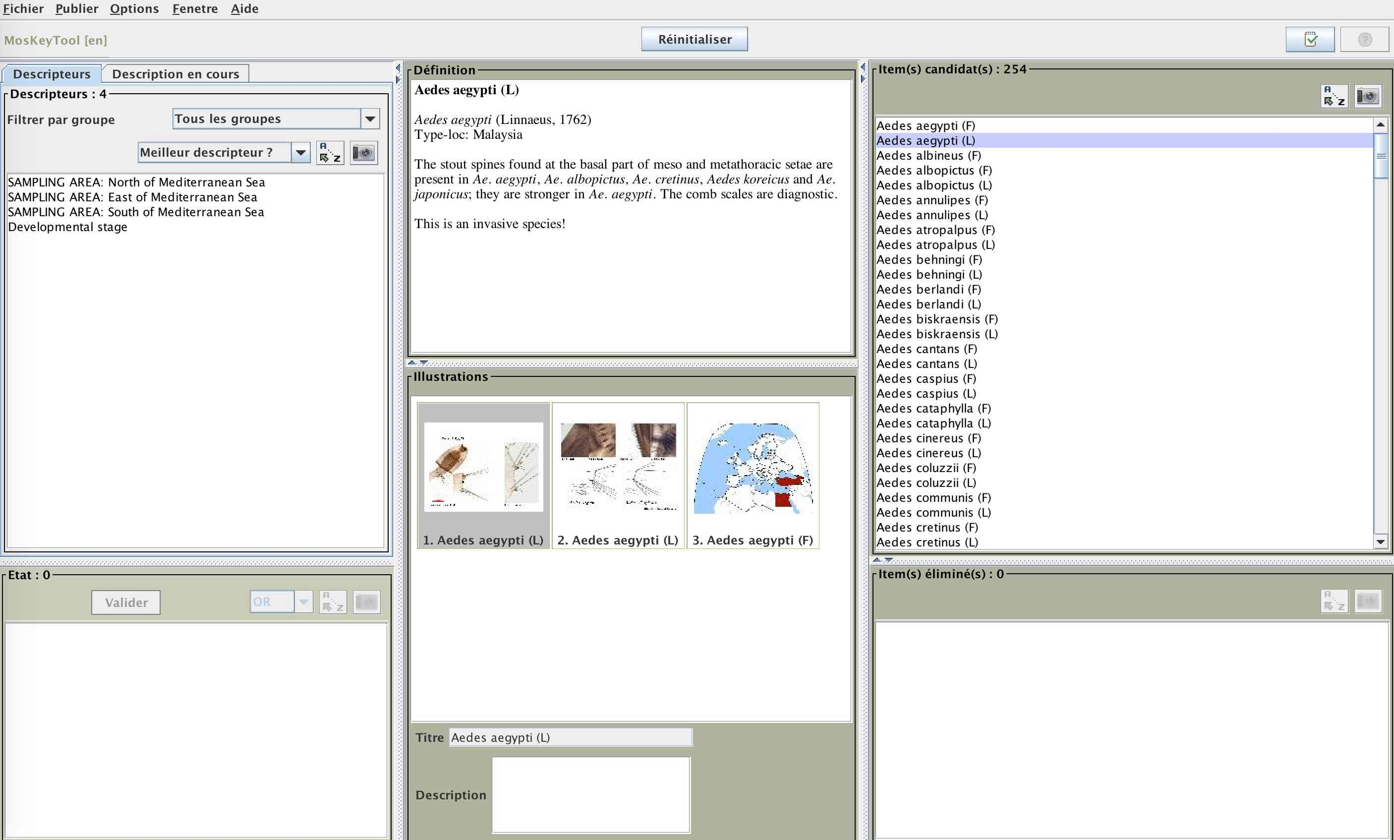 MosKeyTool : un outil interactif gratuit d'identification des moustiques en Europe Captur24