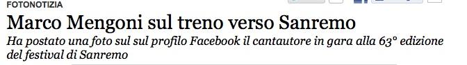[Sanremo 2013] Marco va in Riviera 2 - Articoli e Interviste Titolo10