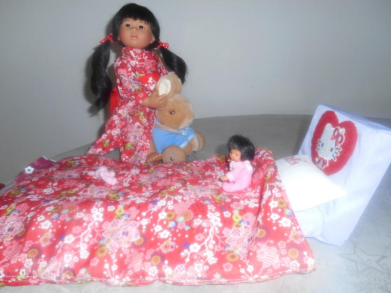 Yuki a un nouveau lit...et une nouvelle combi Dscn0719