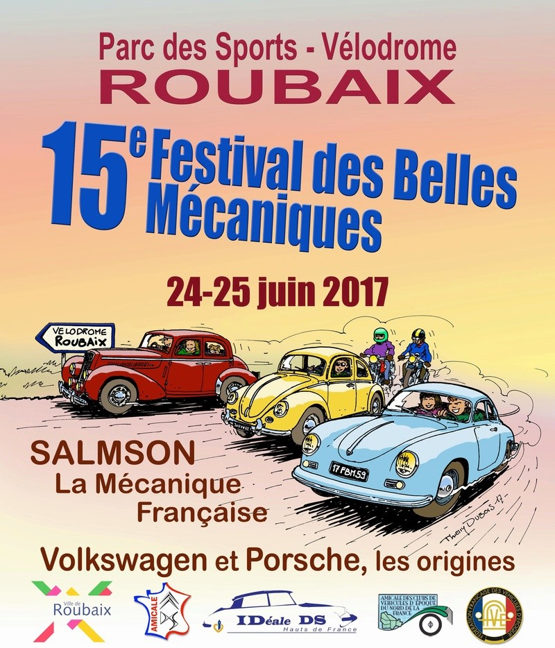 Belles Mécaniques de Roubaix (59) les 24 et 25 juin 2017 15fbmr10