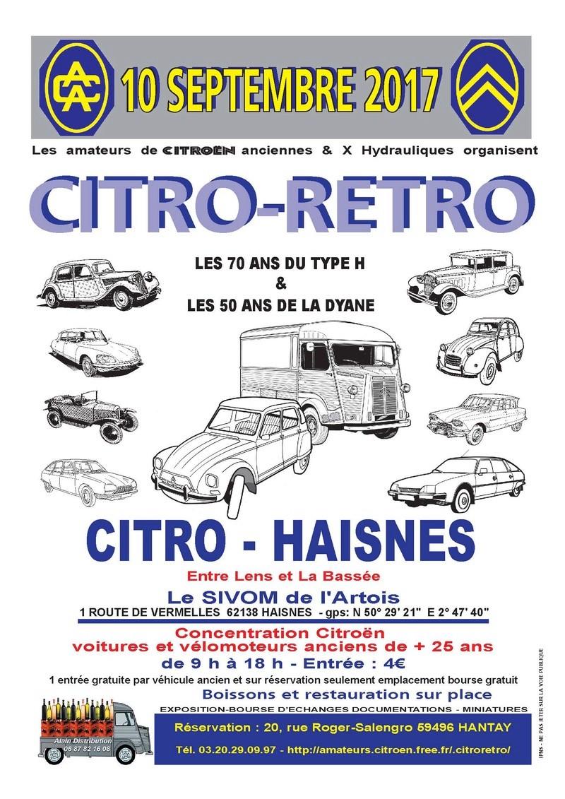 Citro Rétro Haisnes lez La Bassée (62) le 10 septembre 2017 2017ci10