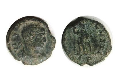 Petite romaine avec un début de légende inhabituel Aid110