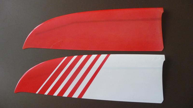 Ensemble VENDU  .  Fuselage electro / stab Xplorer P1040013