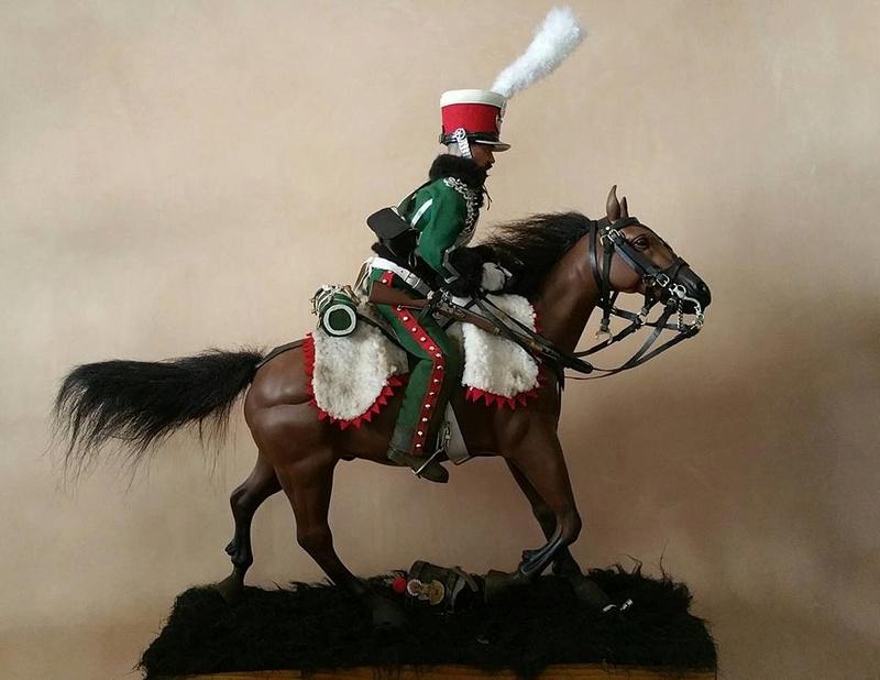 Garde d'honneur avril 1814 campagne de France  17990810