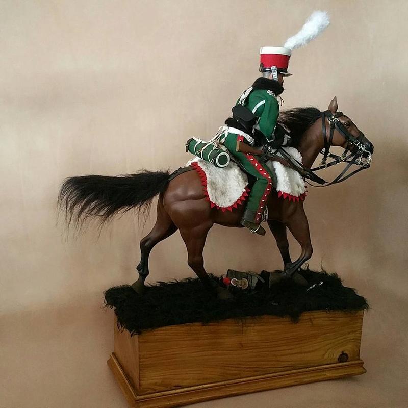 Garde d'honneur avril 1814 campagne de France  17991810